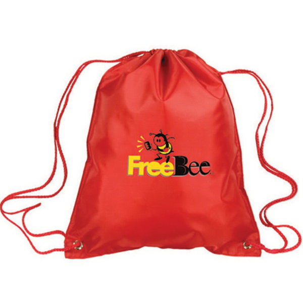 Polyester Drawstring Tote Bag