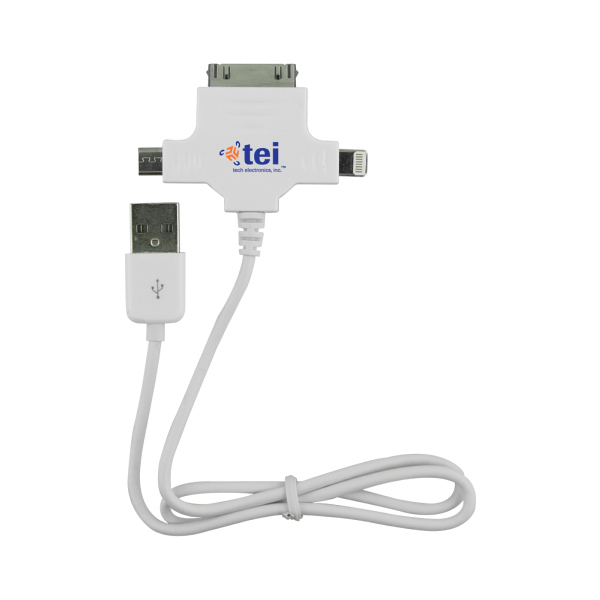 Firefox 3 -in- 1 Cable Charger