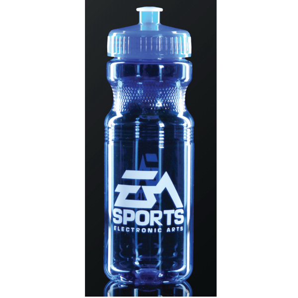 24oz Fitness Bottle - Blue
