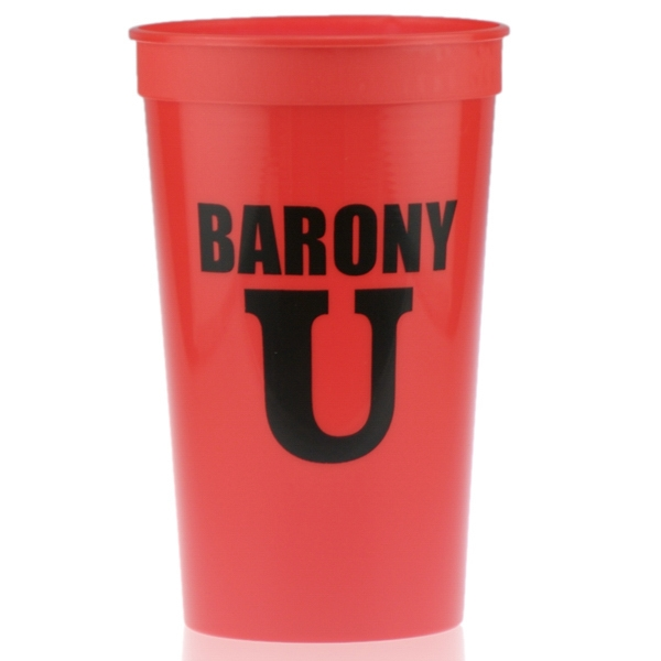 22oz Stadium Cup Red
