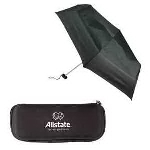 43 Inch Folding Umbrella with Ultra Compact Case