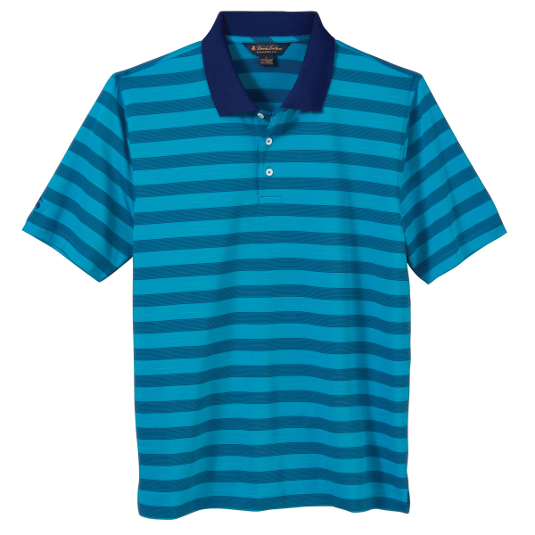 Brooks Brothers Men's Performance Striped Jersey Polo