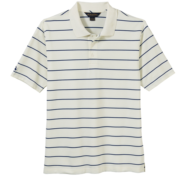 Brooks Brothers Men's Performance Pencil Stripe Pique Polo