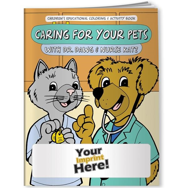 Coloring Book Caring For Your Pets With Dr Dawg And Nurse