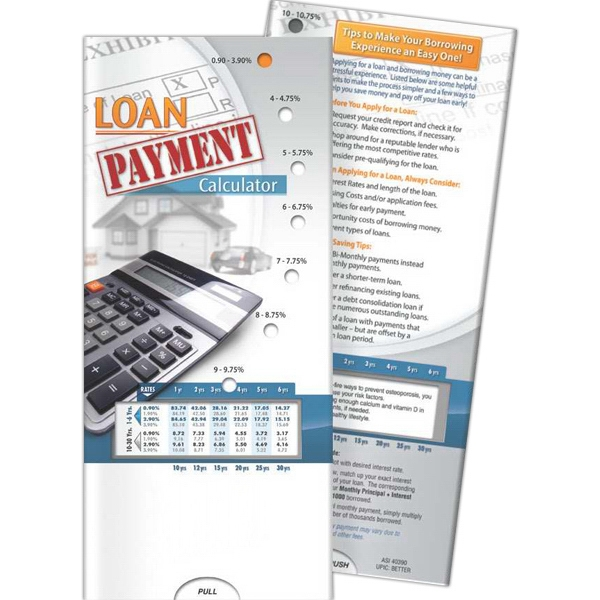 Pocket Slider - Loan Payment Calculator - Goimprints