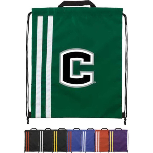 Spirit Two-Tone Drawstring Backpack