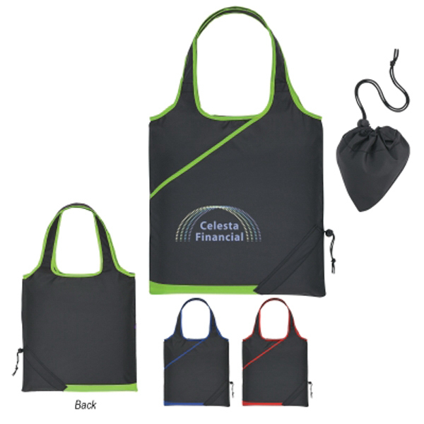 ACCENT FOLDAWAY TOTE
