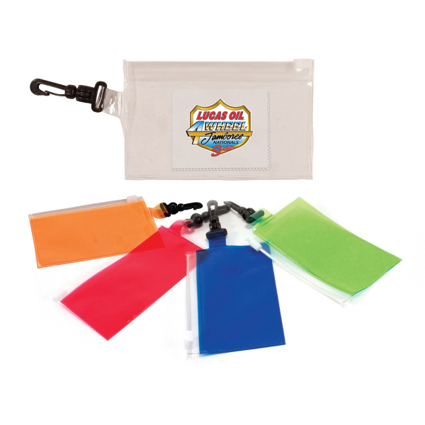 Clip 'N Go Bag With Microfiber Cloth, Full Color Digital
