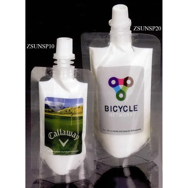 2 oz SPF 30 Sunscreen in Squeeze Pouch