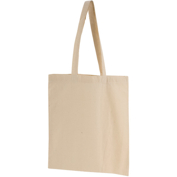 74e9e3e52 Vapor Natural Canvas Tote Bag - GOimprints