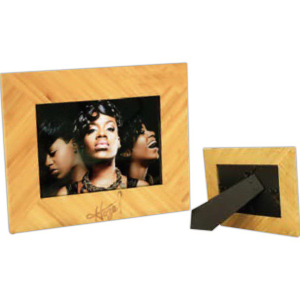Bamboo Picture Frame Holds 8 X 10 Photo Goimprints