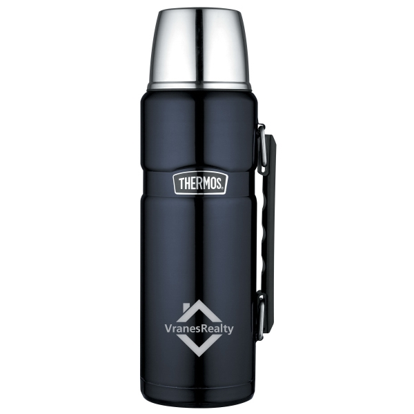 Thermos(R) Stainless King(TM) Beverage Bottle - 40 Oz.