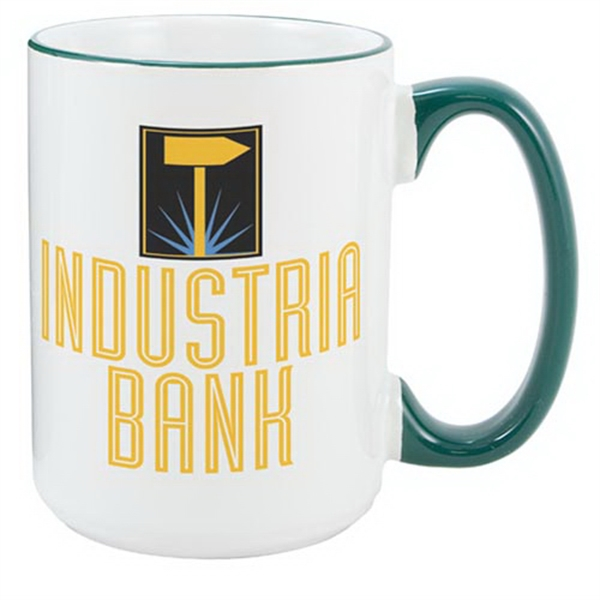 Heartland El Grande 15oz Green Ceramic Mug
