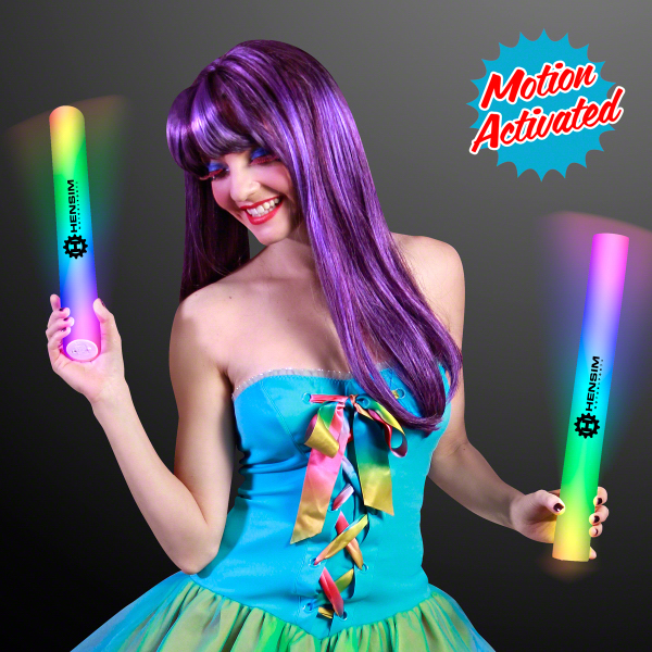Motion Activated Lights Multicolor Cheer Stick - 60 Day