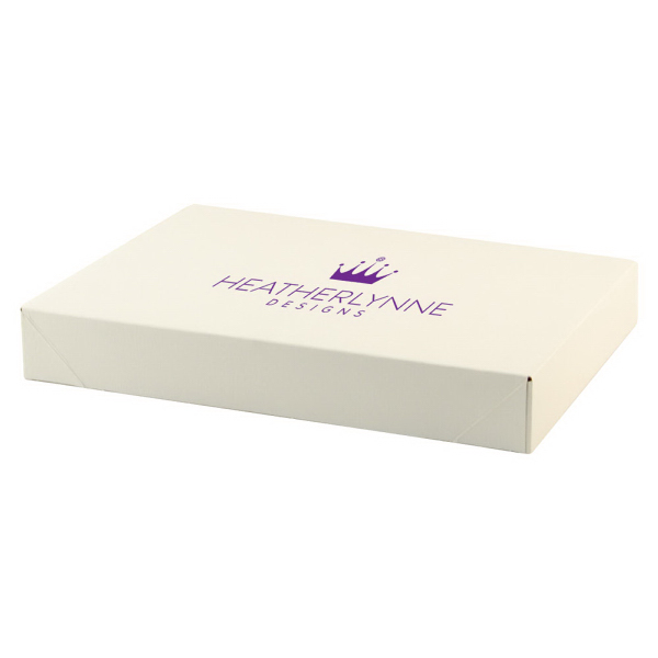 Frost White Gloss Apparel Boxes