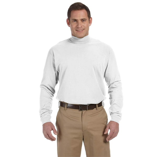 ce993001893 Devon   Jones Sueded Cotton Jersey Mock Turtleneck