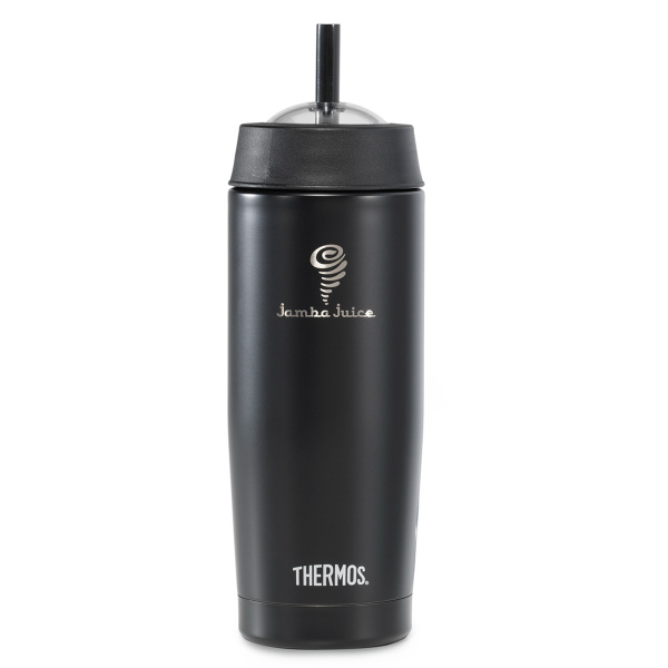 Thermos (R) Cold Cup with Straw-16 oz.