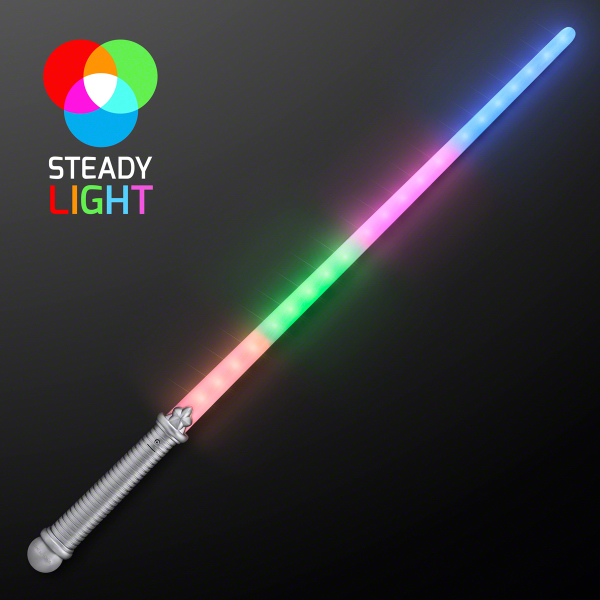 layered 4 color rainbow light up saber blank - Blank Rainbow To Color