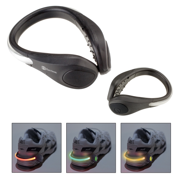 Safety Light Shoe Clip