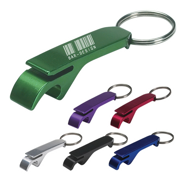 Aluminum Bottle Can Opener Key Ring