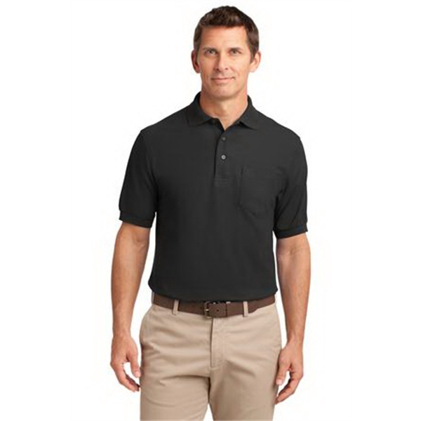 Port Authority (R) Silk Touch (TM) Polo With Pockets