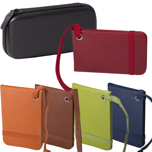 Tuscany (TM) Luggage Tags Set In A Case