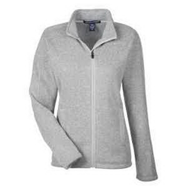 74a23869fce5 Devon   Jones Ladies  Bristol Full-Zip Sweater Fleece Jacket ...