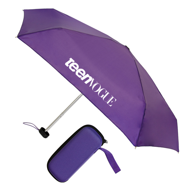 "Traveler Umbrella - 36"" arc, manual open, EVA case included"