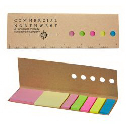 Paper Ruler with Sticky Flags