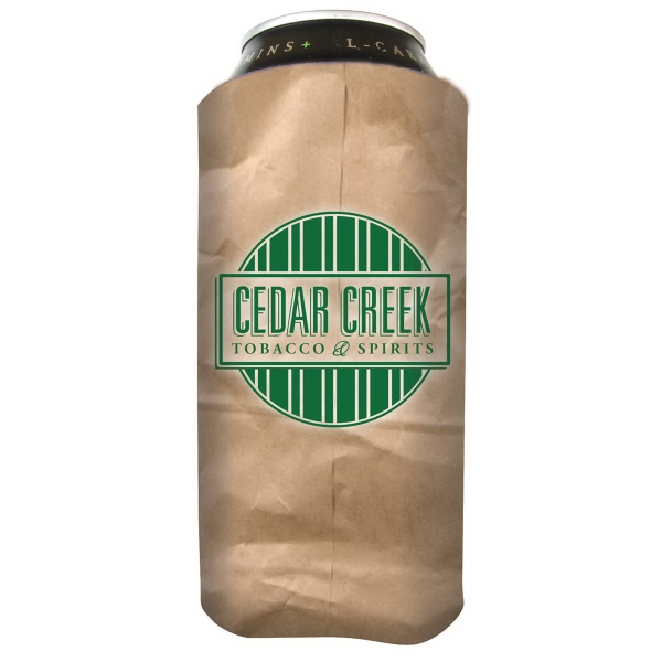 16 oz. Tall Boy Can Cooler (Full Color)