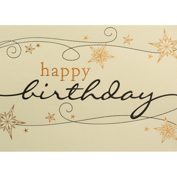 Fancy Birthday Greeting Card Goimprints