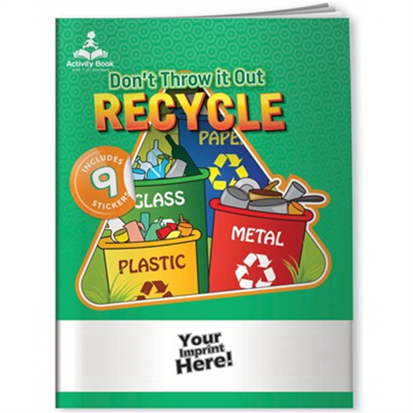 Activity Book with Fun Stickers (TM) - Recycling