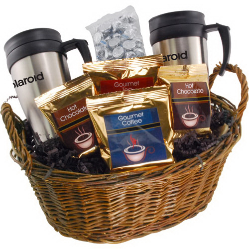 Premium Mug Gift Basket with Hershey Kisses - GOimprints