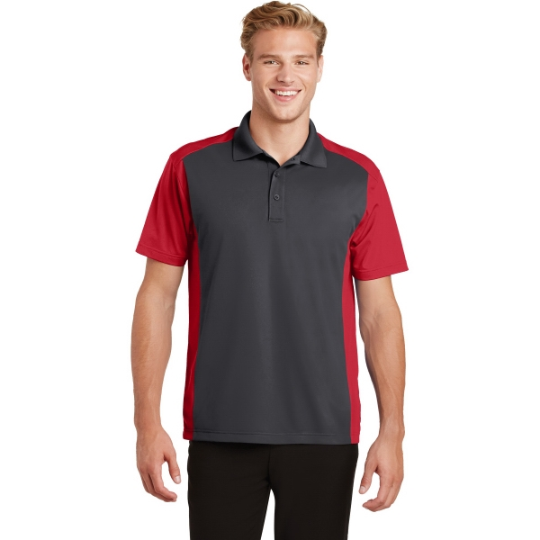 Sport-Tek (R) Colorblock Micropique Sport-Wick Polo