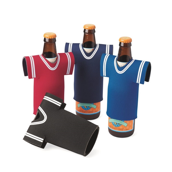 Liberty Bags Collapsible Jersey Foam Can and Bottle Holder