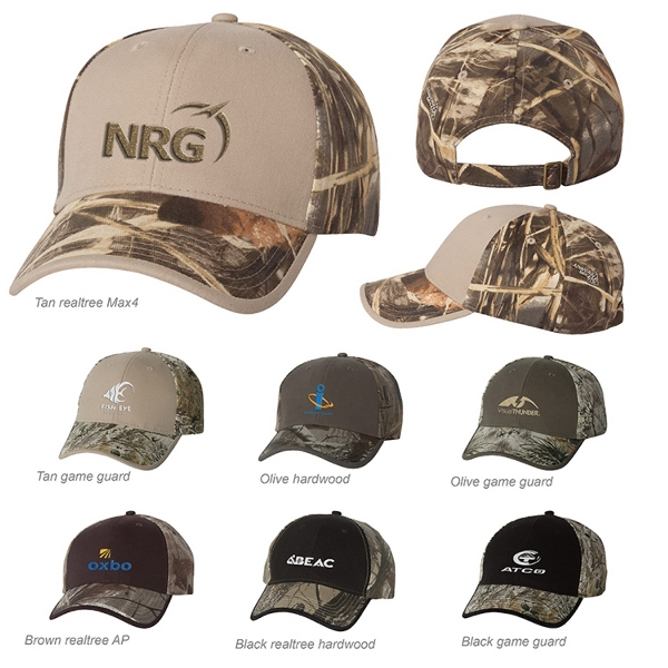 Kati Structured Mid-Profile Mossy Oak (R) Camouflage Cap
