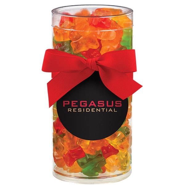 Large elegant gift tube with gummy bears goimprints large elegant gift tube with gummy bears negle Gallery