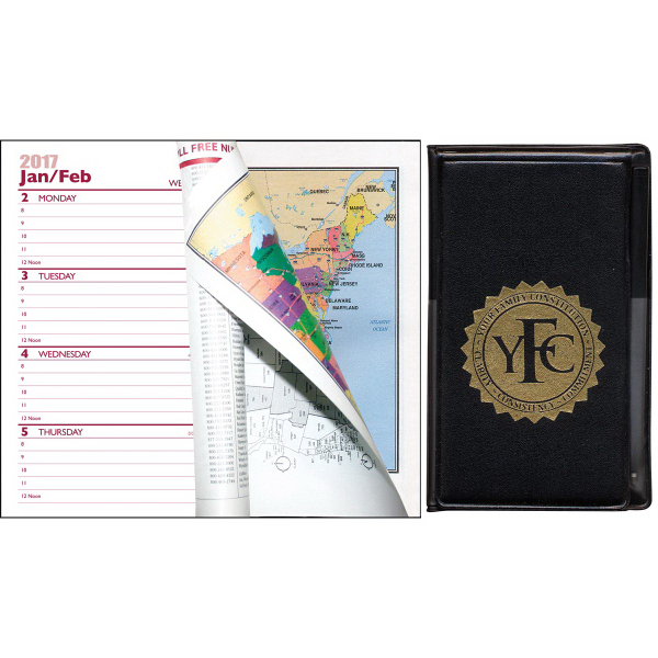 multi purpose mini weekly pocket planner with pad and pen goimprints