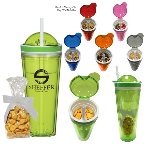 Snack Attack Tumbler With Stuffer