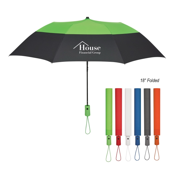 "46"" Arc Color Top Folding Umbrella"