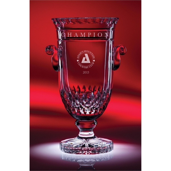 Curator Cup Full Lead Crystal Award - Large