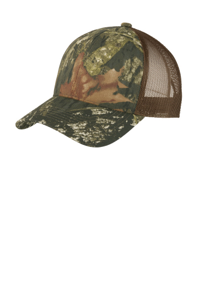 Port Authority Structured Camouflage Mesh Back Cap.