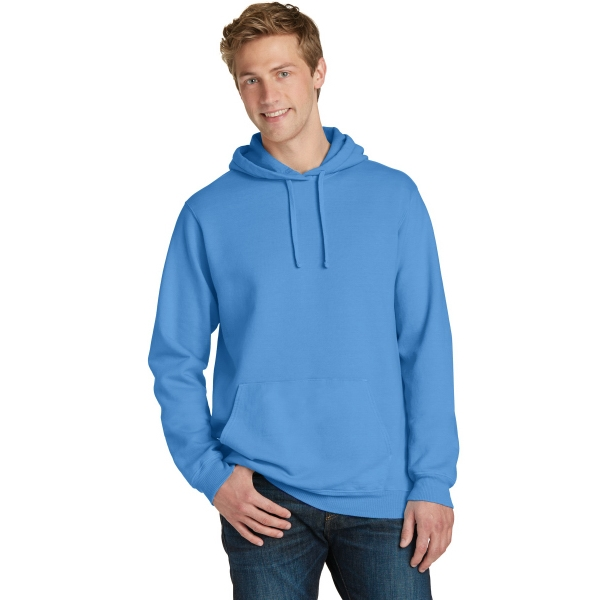 Port & Company Beach Wash Garment-Dyed Pullover Hooded Sw...