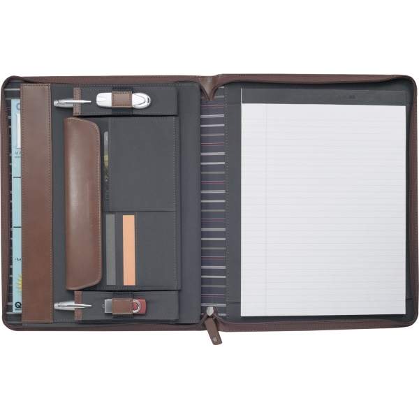 Cutter & Buck(R) Legacy Zippered Padfolio