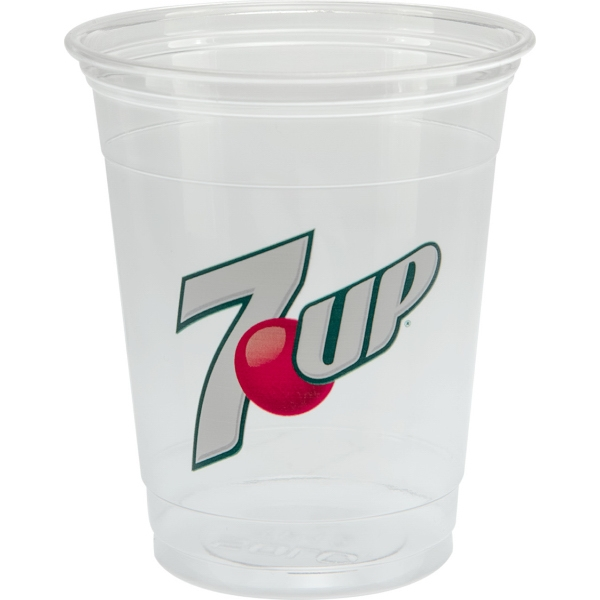 12/14 oz Soft Sided Clear Plastic Cup