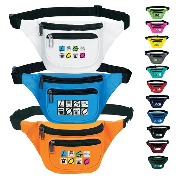 Three Zip Fanny Pack