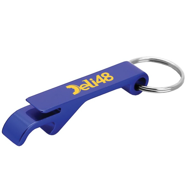Aluminum Beverage Opener and Key Ring