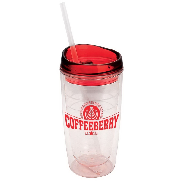 The View - 15 oz Insulated Acrylic Tumbler