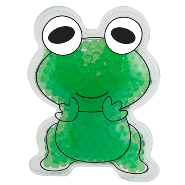 Frog Gel Bead Hot/Cold Pack
