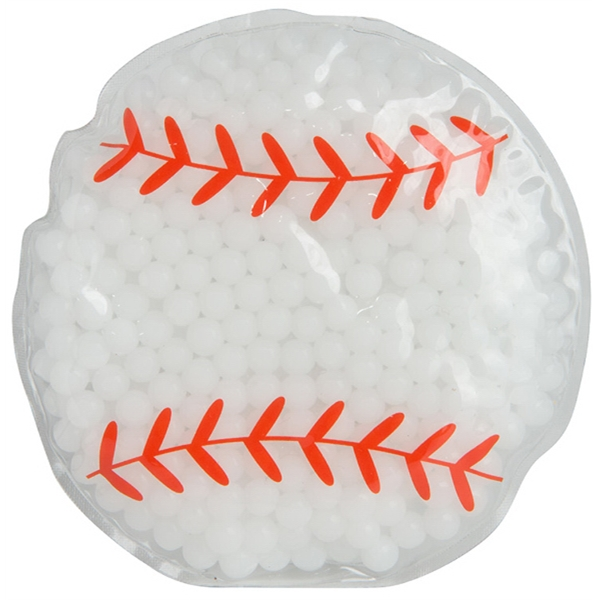 Baseball Gel Bead Hot/Cold Pack